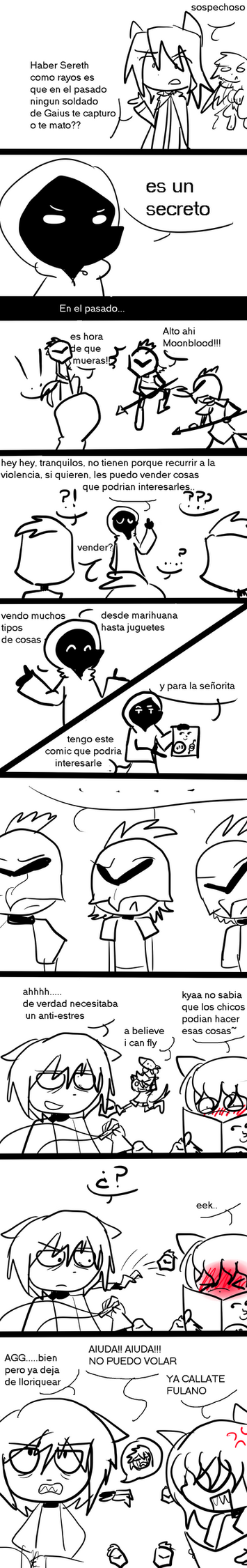 Dust an Elysian tail funny comic: Sereth by CuteXiora