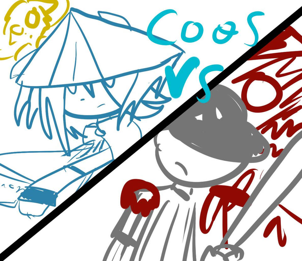 Dust vs The batter Caos VS si es una peticin XD by CuteXiora