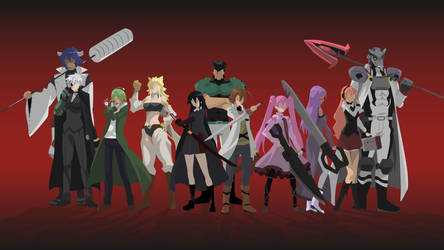[Request] Akame ga Kill - Night raid by Hespen