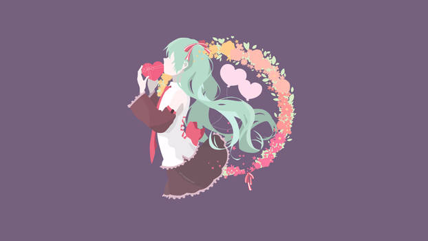 [Contest-entry][Valentines] Hatsune Miku