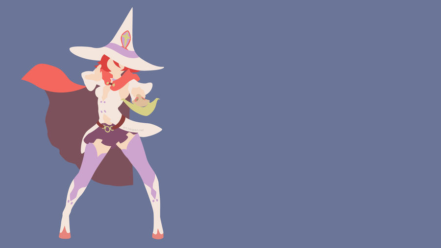 Minimalist Little Witch Academia Shiny Chariot By Hespen On Deviantart