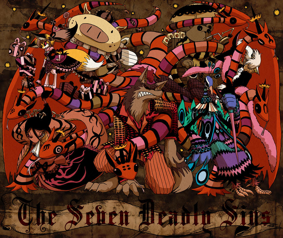 The Seven Deadly Sins by hi6sho