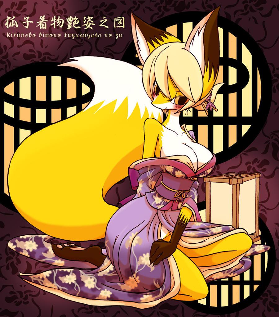 Kimono Kituneko by hi6sho