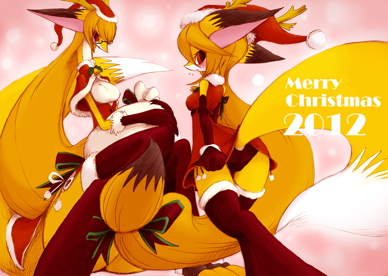 Doodle Masaki Christmas version by hi6sho