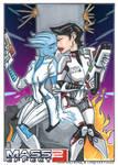 ME2 Liara and Shepard