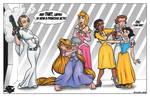 Disney's Princess Leia COLORED