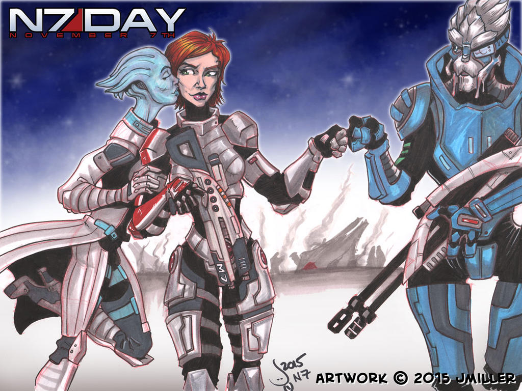 N7 Day 2015 by LordSantiago