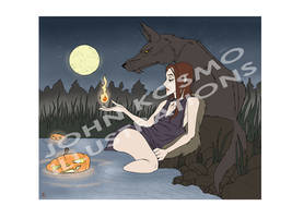 (AUCTION OPEN) Halloween Illustration by Trydying13