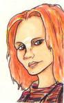 Irisa Sketch Card