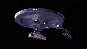 Ranger Class Refit USS Strider WIP 8 by BasillArt