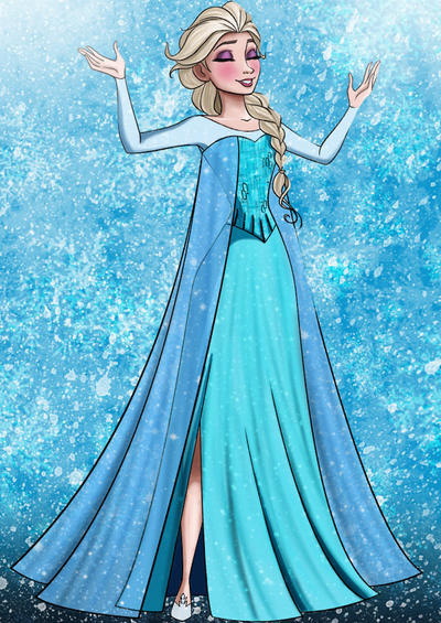 Frozen Coloring Page by sugapiessofly on DeviantArt