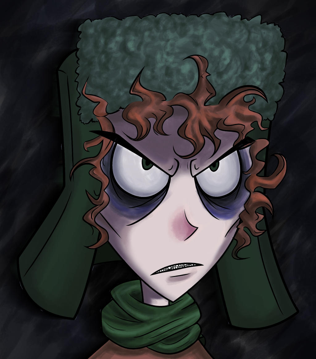 Tim Burton Kyle by sugapiessofly