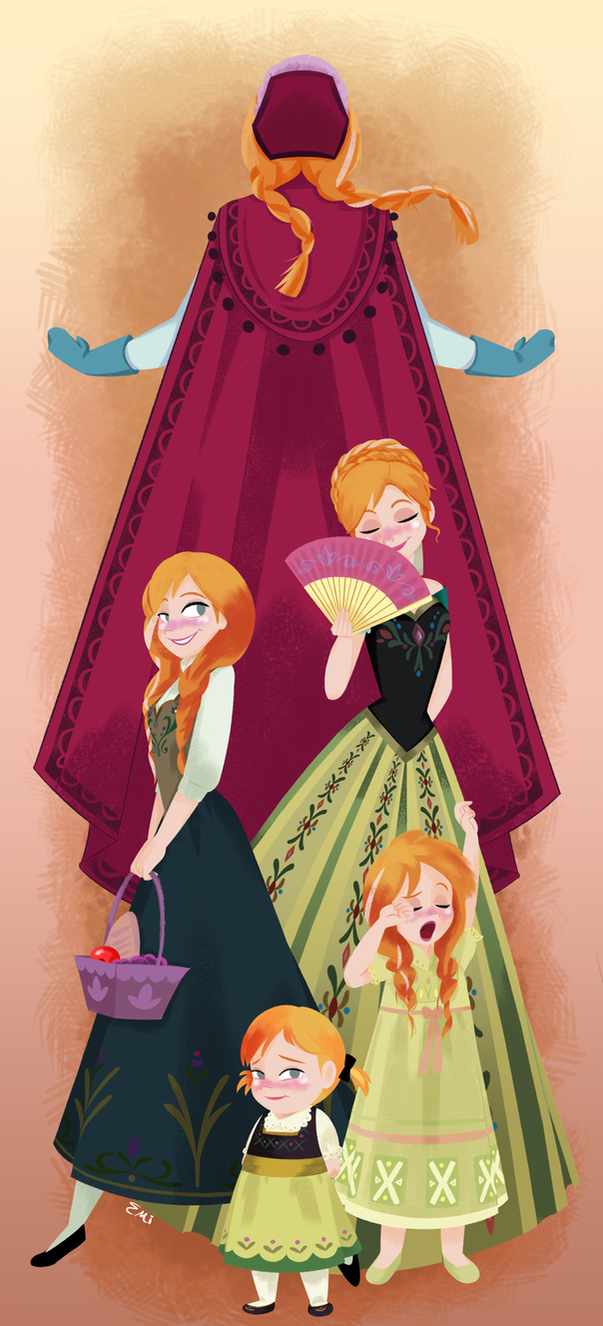 Princess Anna by Tokio92
