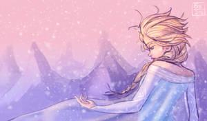 Elsa doodle by Tokio92