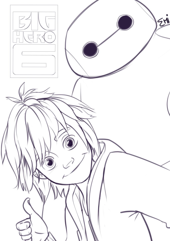 Big Hero 6 Sketch By Tokio92 On DeviantArt