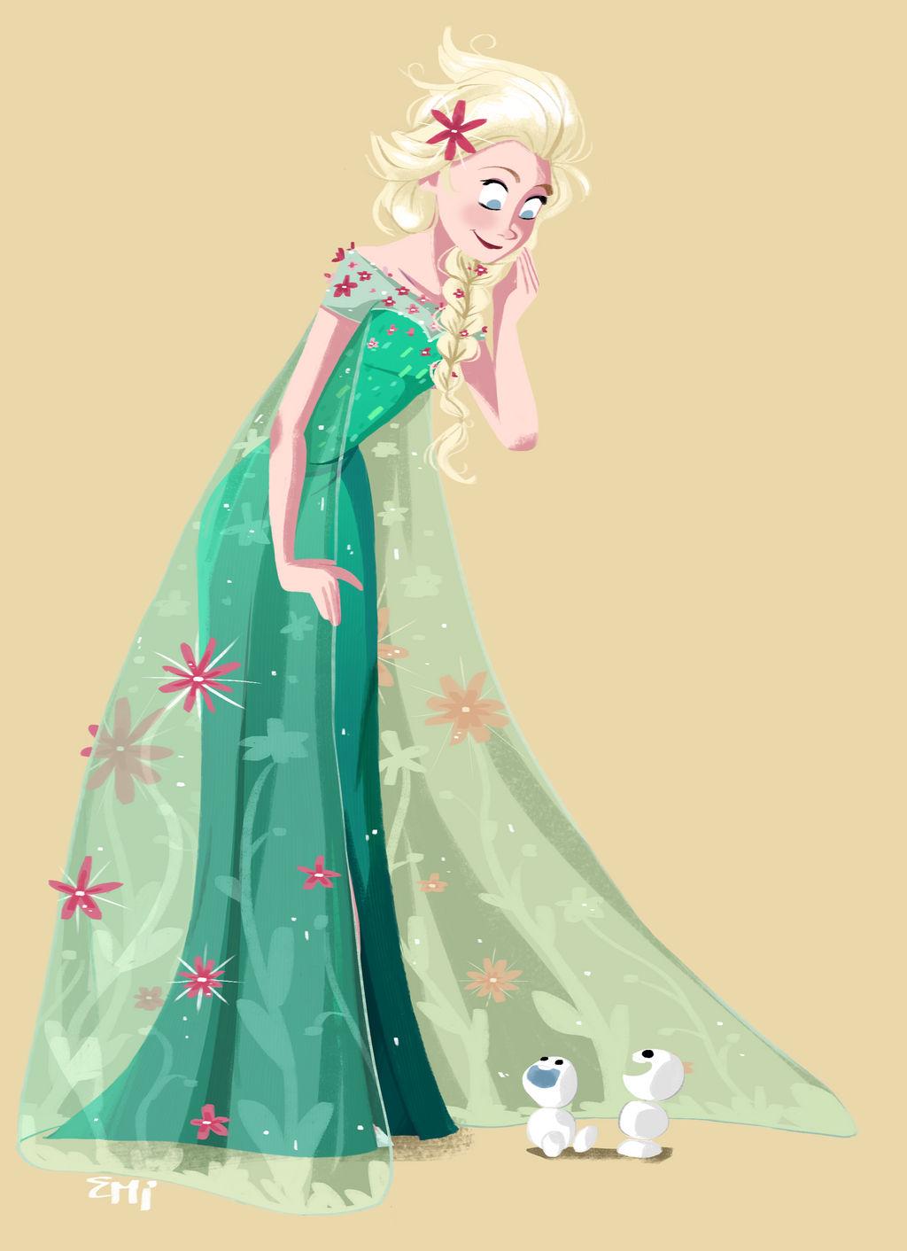 Elsa and Snowgies