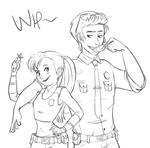Nick/Judy - Sketch