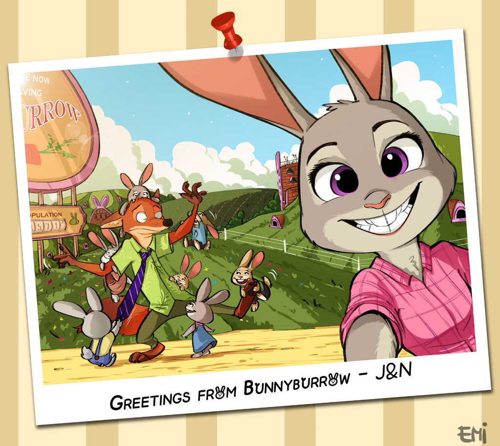 Greetings From Bunnyburrow