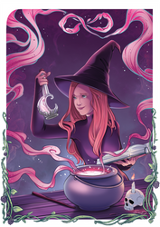 Commission - The Magician Tarot