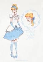 Cinderella and lolita fashion by Moon-In-Milk
