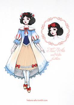 Snow White and lolita fashion