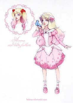 Aurora and lolita fashion