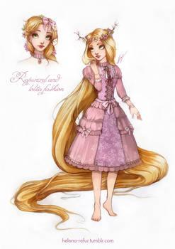 Rapunzel and lolita fashion