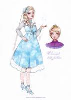 Elsa and lolita fashion by Moon-In-Milk