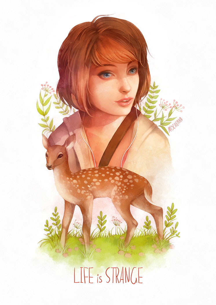 Max Caulfield by Moon-In-Milk