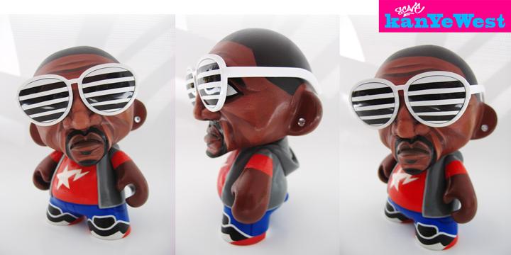 Kanye West Mini Munny Custom By Scavenjer On Deviantart