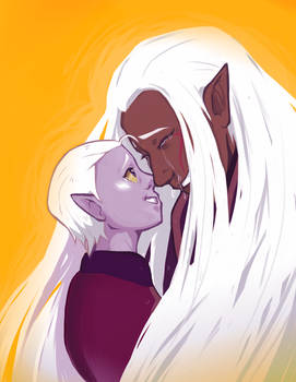 Lotor and Honerva
