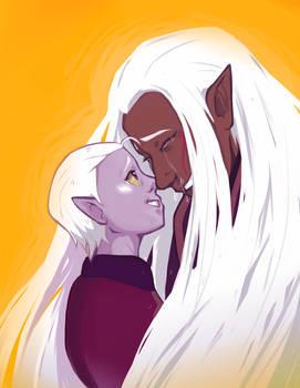 Lotor and Honerva
