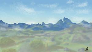 View of Dueling Peaks