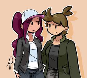 Aria and Quinn
