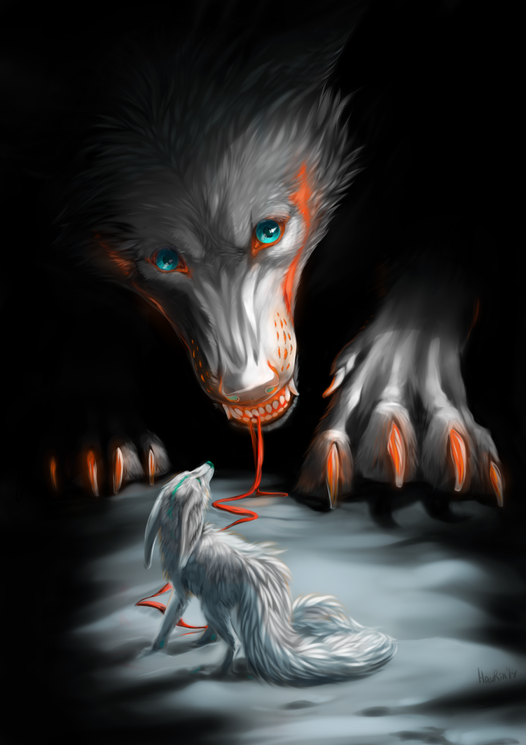Hello little fox by HauRin