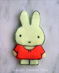Miffy made with Fimo