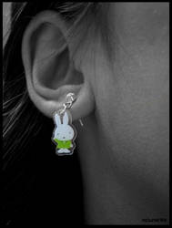 Miffy ear-ring