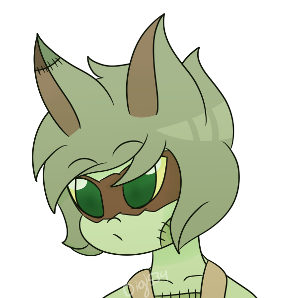 Rotty Rottencat (Commission) by DigitalPanda534