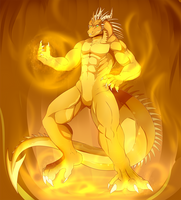 GenghisRex commission by DRACOICE