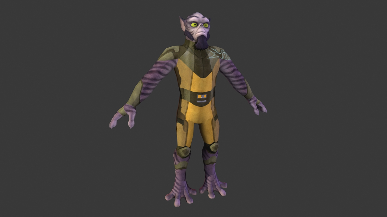 star wars rebels zeb by jakegreen163 on deviantart