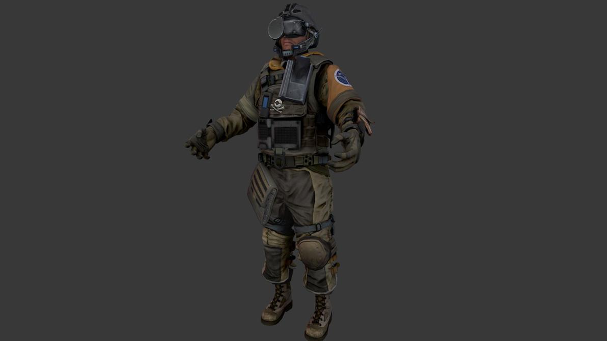 Killzone 3 ISA Tactician by JakeGreen163