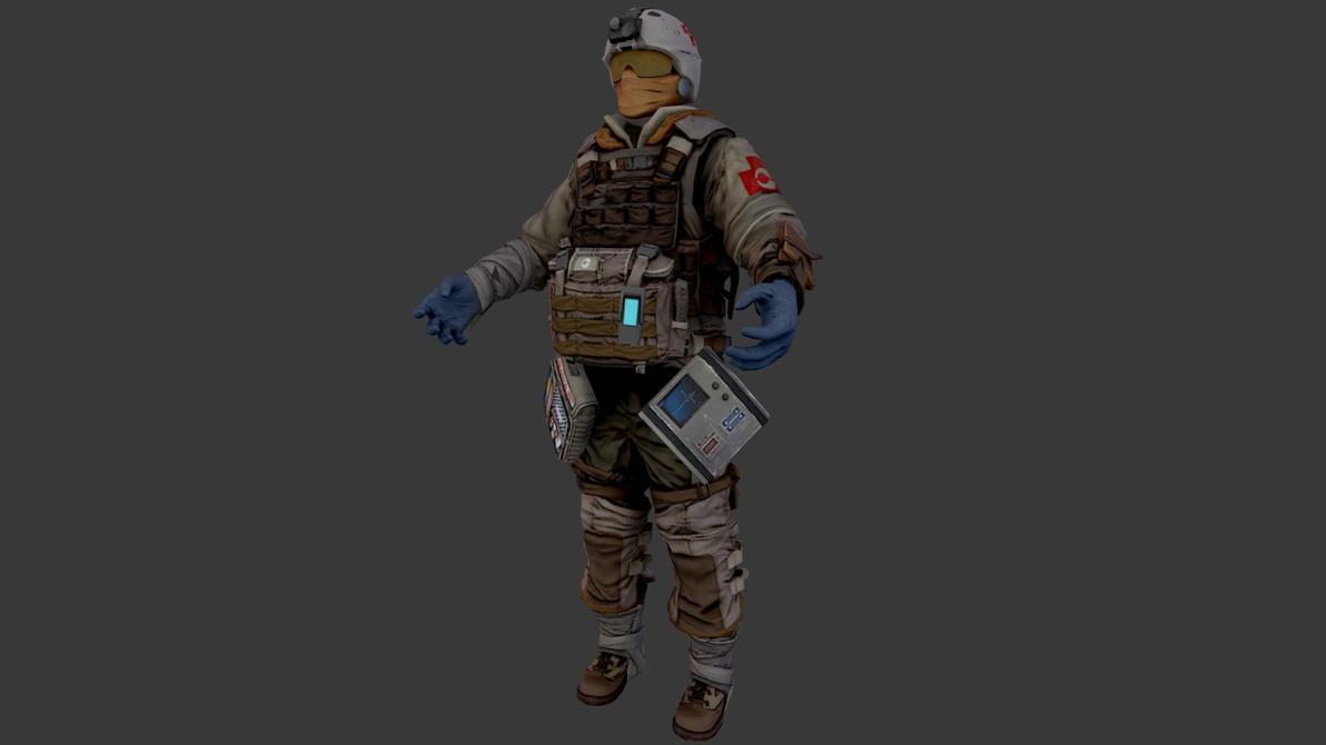 Killzone 3 ISA Medic by JakeGreen163