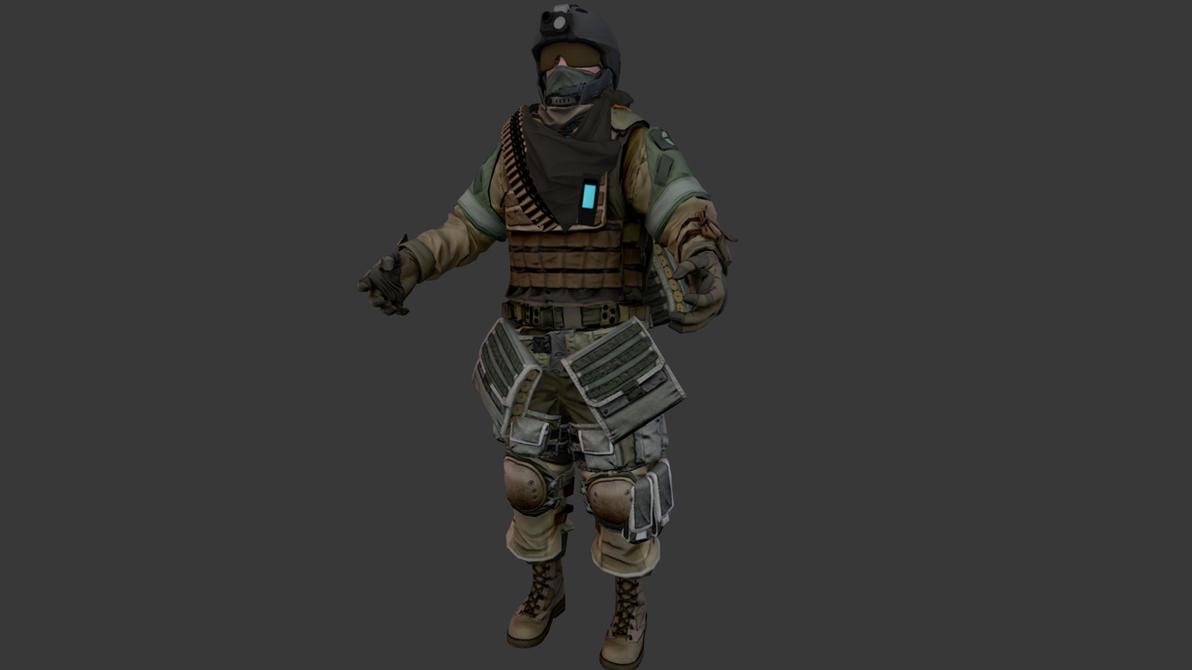 Killzone 3 ISA Scavenger by JakeGreen163