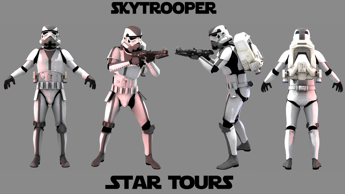 SkyTrooper (Star Tours) by JakeGreen163