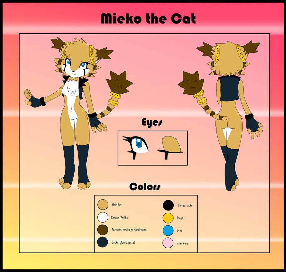 REF. Mieko the Cat by Umui
