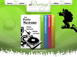 DiRunnings Website layout by artofmarc