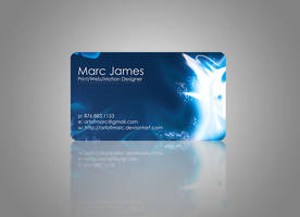 Art of Marc - Business Card 1 by artofmarc