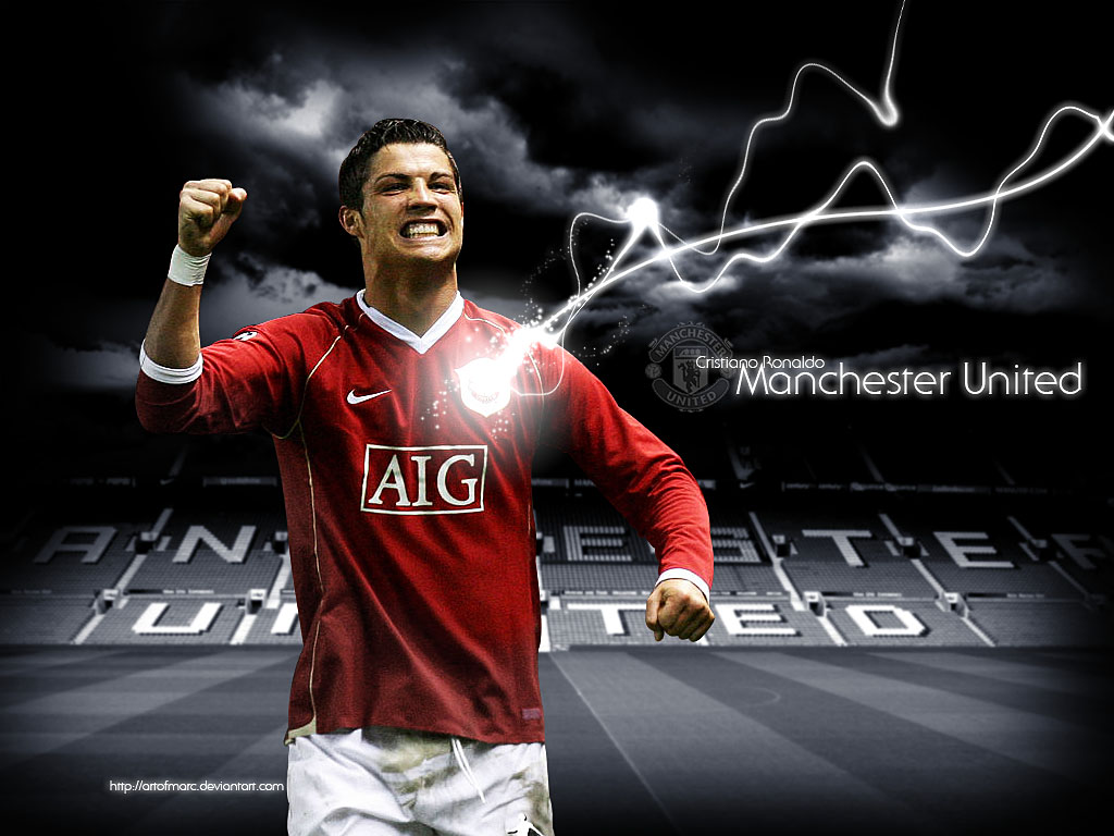 Manchester United Ronaldo By Artofmarc On Deviantart