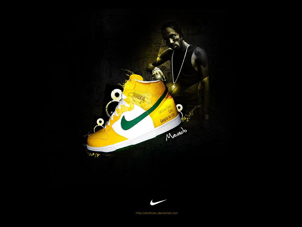 Mavado Nike - Fanart by artofmarc