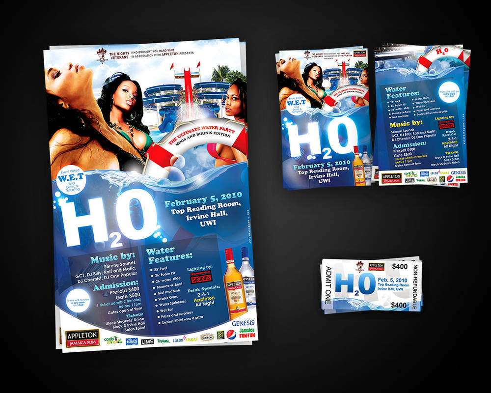 H20 Poster_Flyer 2010 by artofmarc